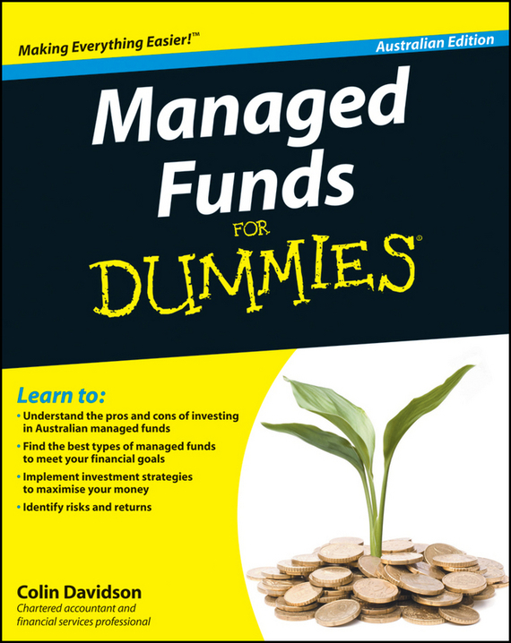 Colin  Davidson Managed Funds For Dummies mark melin h high performance managed futures the new way to diversify your portfolio