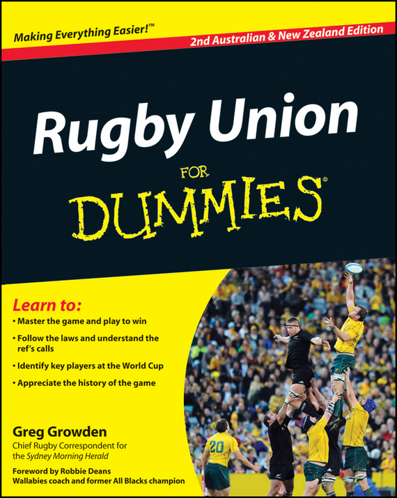 Greg Growden Rugby Union For Dummies hannah s a game for all the family