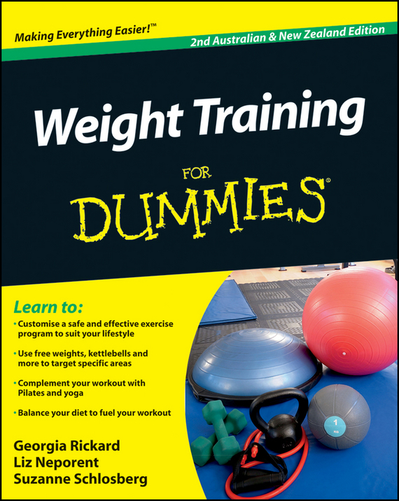 Liz Neporent Weight Training For Dummies аксессуар чехол for pocketbook 614 615 624 625 626 640 snoogy cloth red sn pb6x red oxf