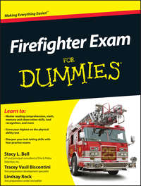Tracey  Biscontini - Firefighter Exam For Dummies