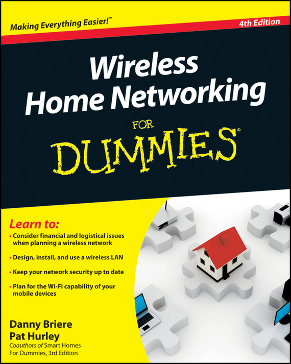 Danny  Briere Wireless Home Networking For Dummies bulb light wireless ip camera wi fi fisheye 960p 360 degree mini cctv vr camera 1 3mp home security v380 wifi camera panoramic