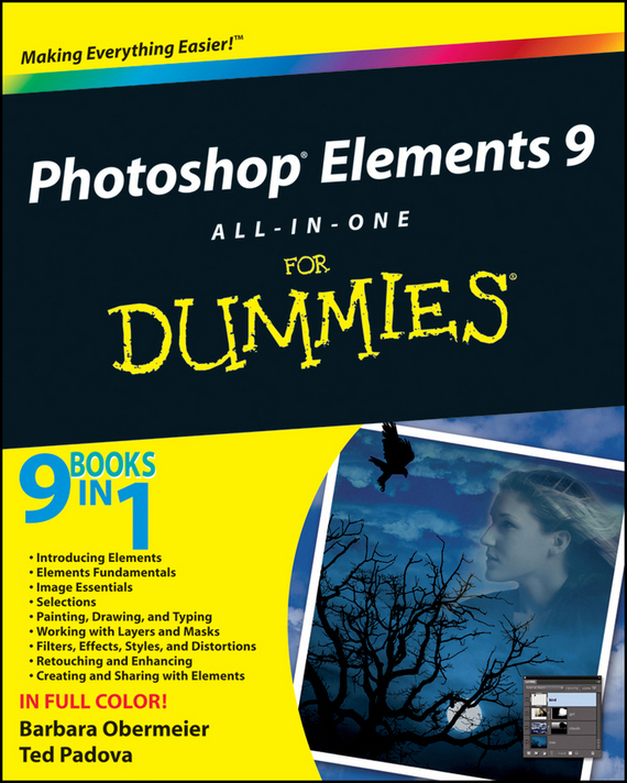 Barbara Obermeier Photoshop Elements 9 All-in-One For Dummies mastering photoshop layers
