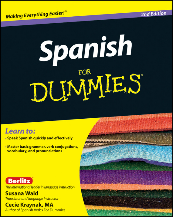 Susana  Wald Spanish For Dummies susana wald spanish for dummies