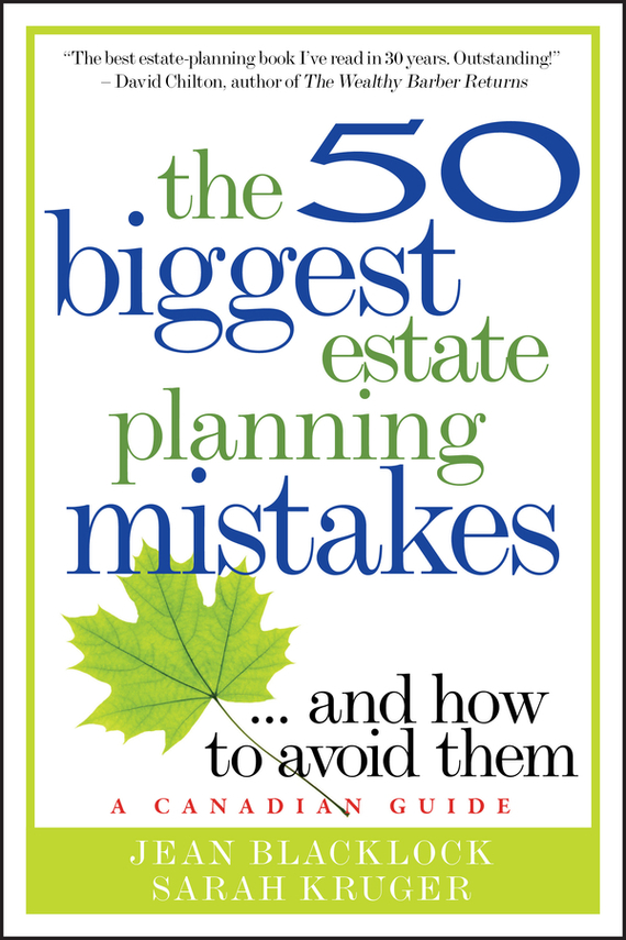 Jean Blacklock The 50 Biggest Estate Planning Mistakes...and How to Avoid Them obioma ebisike a real estate accounting made easy