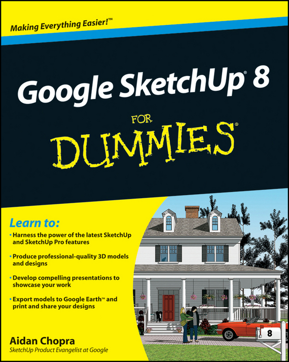 Aidan Chopra Google SketchUp 8 For Dummies диск tech line venti 1401 5 5xr14 4x98 мм et35 silver