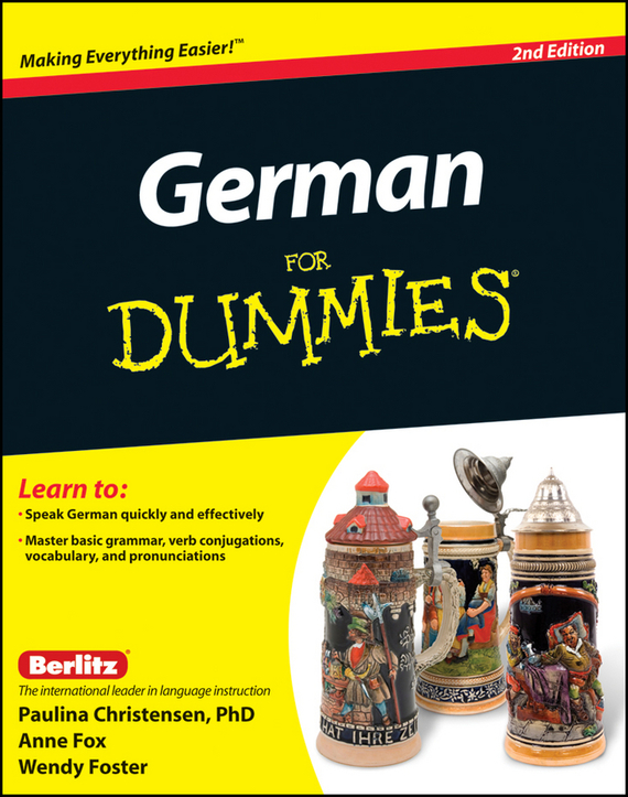 Anne  Fox German For Dummies, Enhanced Edition german verb berlitz handbook