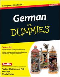 Anne  Fox - German For Dummies, Enhanced Edition