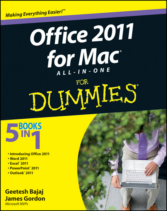 Geetesh  Bajaj Office 2011 for Mac All-in-One For Dummies david byrnes autocad 2011 for dummies