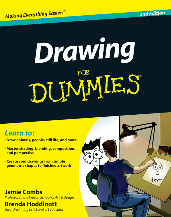 Brenda Hoddinott Drawing For Dummies ISBN: 9781118031988 how to draw noir comics