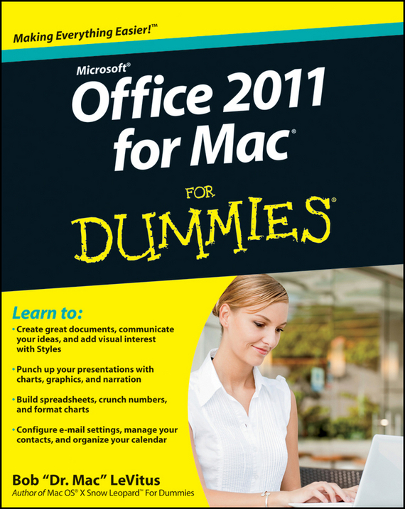 Bob LeVitus Office 2011 for Mac For Dummies a8 2 4 inch biometric fingerprint time attendance with fingerprint sensor for office support usb download in stock