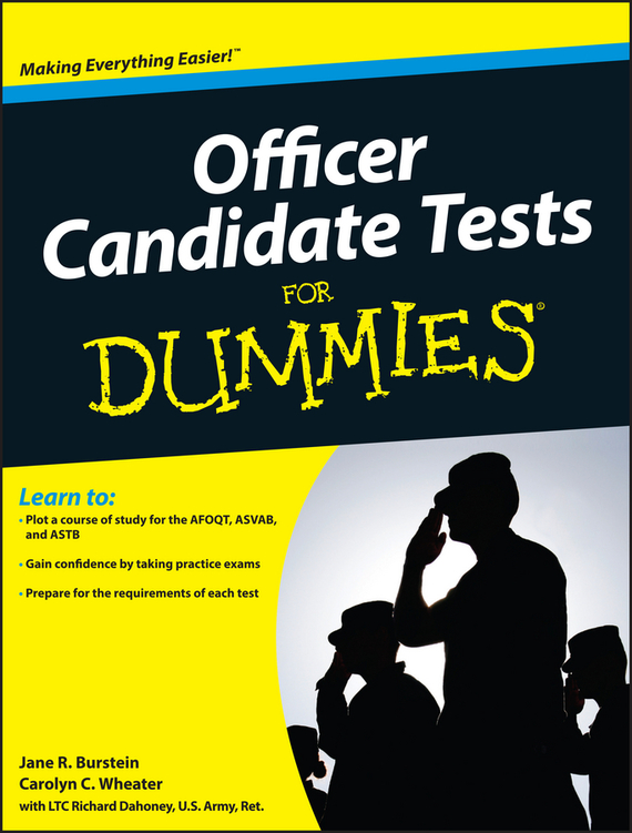 Jane Burstein R. Officer Candidate Tests For Dummies