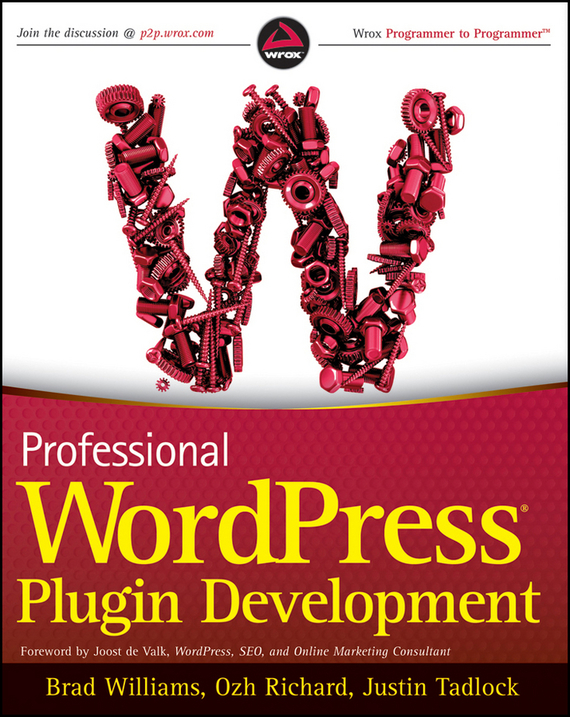 Brad Williams Professional WordPress Plugin Development ISBN: 9781118075302 wordpress for dummies