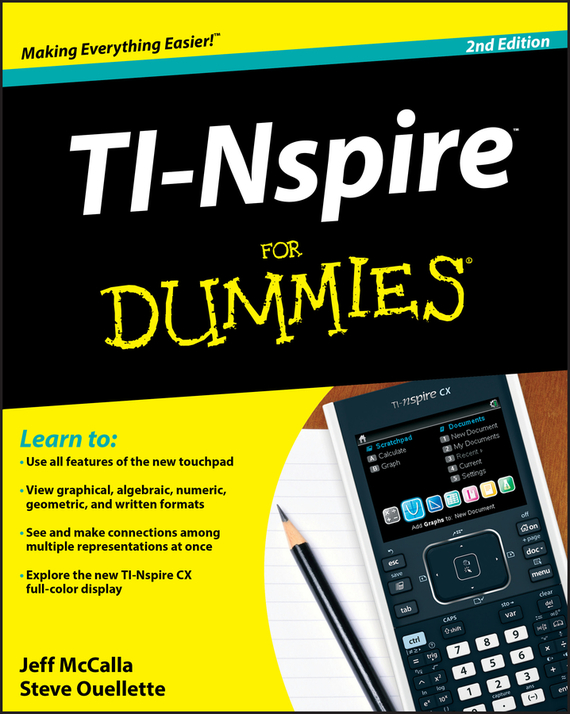Steve  Ouellette. TI-Nspire For Dummies