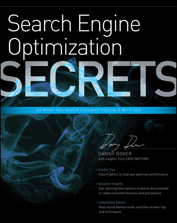 Danny Dover Search Engine Optimization (SEO) Secrets modelling and optimization of chemical engineering processes