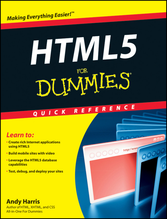 Andy Harris HTML5 For Dummies Quick Reference html5 media page 1