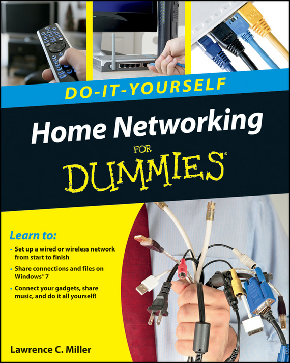 Lawrence Miller C. Home Networking Do-It-Yourself For Dummies free shipping brand new 7 inch color home video intercom door phone system 3 white monitors 1 doorbell camera in stock wholesale