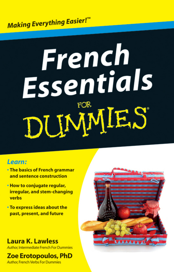 Zoe Erotopoulos French Essentials For Dummies veronique mazet french grammar for dummies