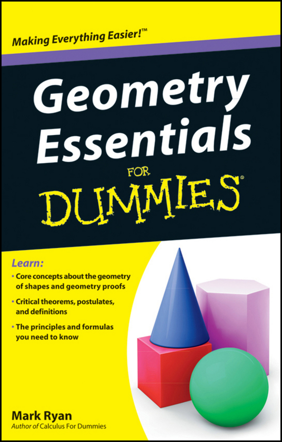 Mark Ryan Geometry Essentials For Dummies pyramids
