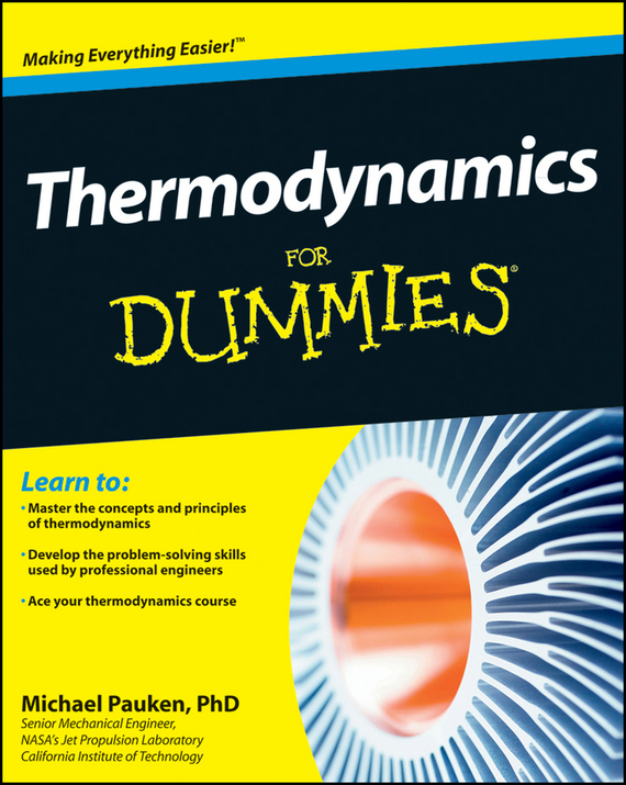 Mike Pauken Thermodynamics For Dummies ISBN: 9781118120996 how machines work
