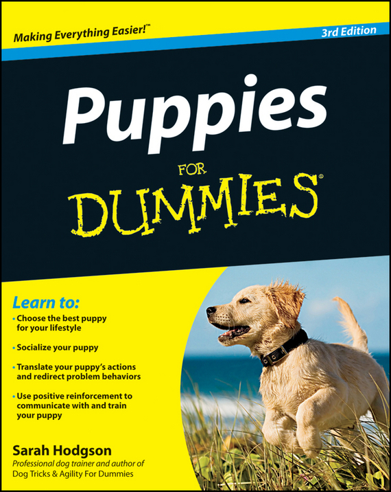 Sarah  Hodgson Puppies For Dummies puppy care and training
