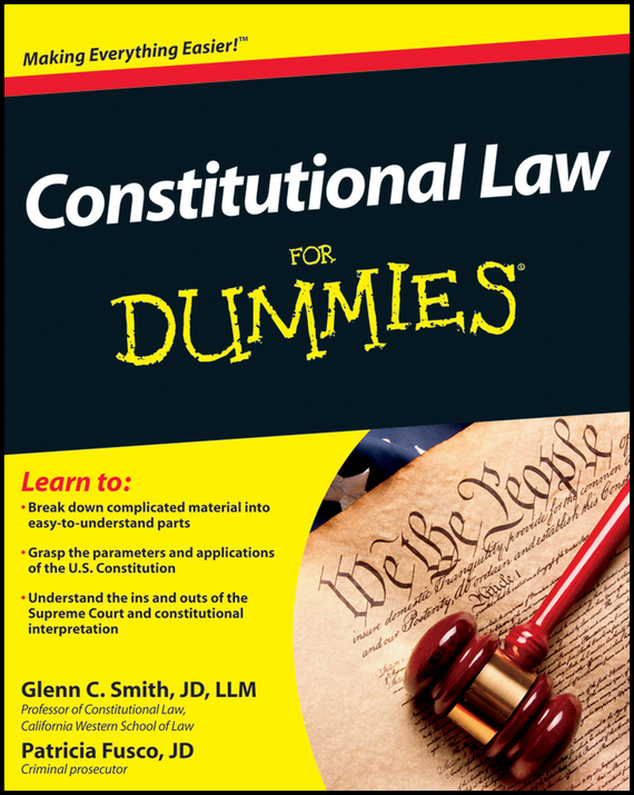 Patricia Fusco Constitutional Law For Dummies машинка philips qc 5132 15