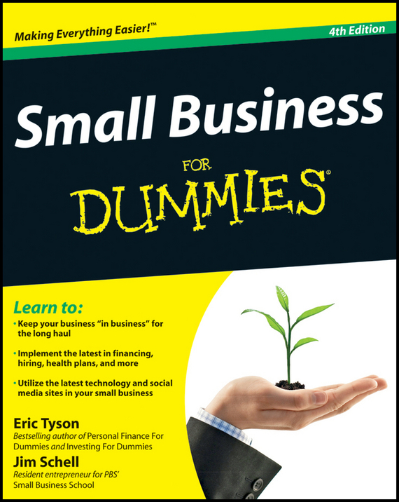 Eric Tyson Small Business For Dummies eric tyson small business taxes for dummies