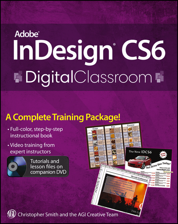 Christopher  Smith Adobe InDesign CS6 Digital Classroom christopher hadnagy unmasking the social