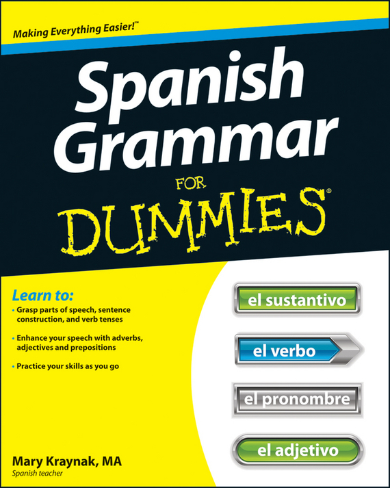 Cecie Kraynak Spanish Grammar For Dummies coloring mandalas for dummies