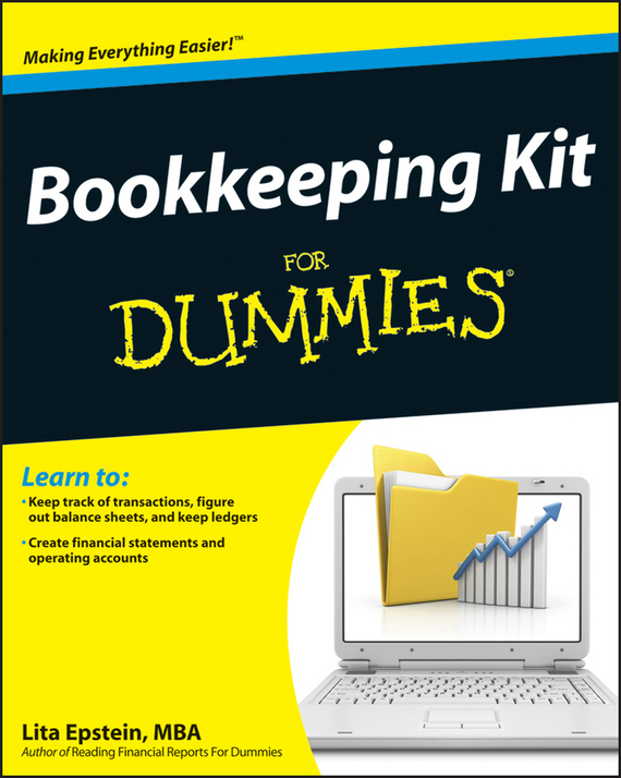 Lita Epstein Bookkeeping Kit For Dummies bookkeeping workbook for dummies® uk edition
