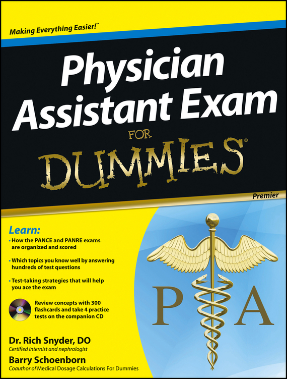 Barry Schoenborn Physician Assistant Exam For Dummies the imactm for dummies®