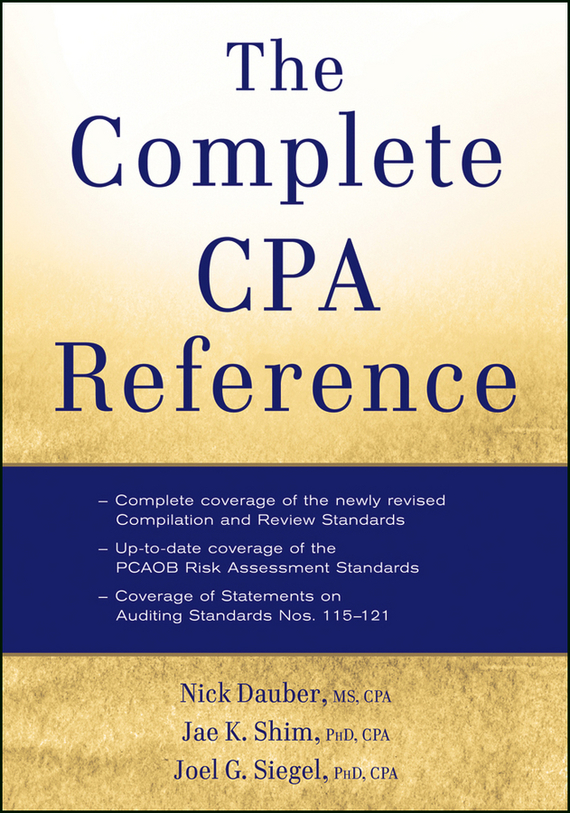 Jae K. Shim The Complete CPA Reference a new lease of death