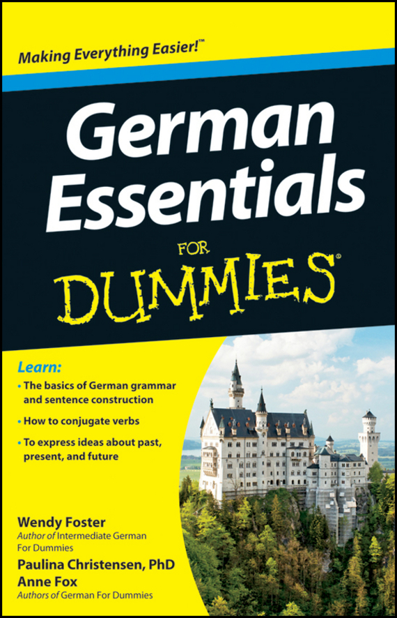 Anne Fox German Essentials For Dummies xml for dummies® quick reference