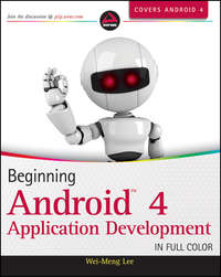 Wei-Meng  Lee - Beginning Android 4 Application Development