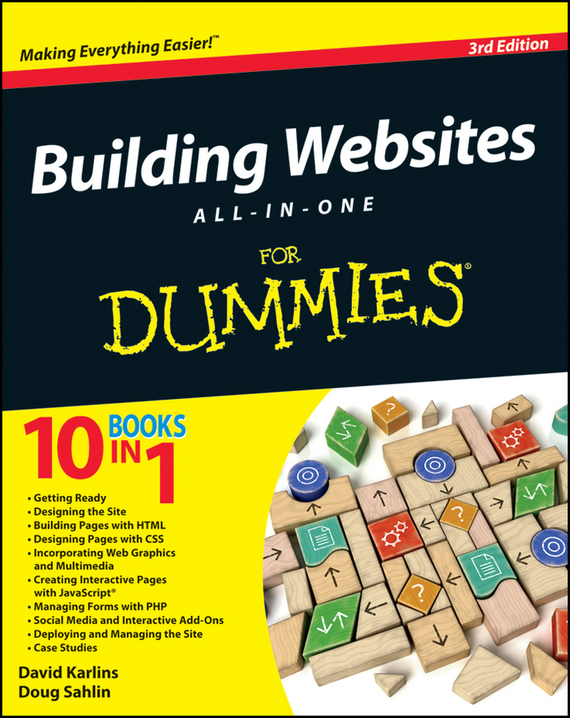 Doug  Sahlin Building Websites All-in-One For Dummies blog