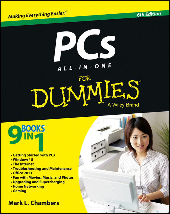 Mark Chambers L. PCs All-in-One For Dummies носки высокие женские stance ines longevial stolen kiss crew multi