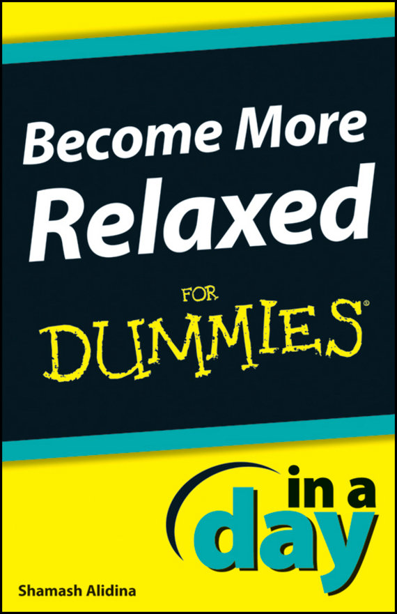 Shamash Alidina Become More Relaxed In A Day For Dummies can you keep a secret