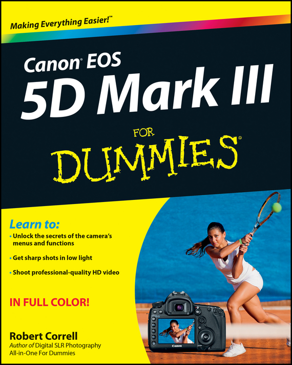 Robert Correll Canon EOS 5D Mark III For Dummies dslr vcr rig shoulder pad mount for 15mm rail system follow focus canon nikon