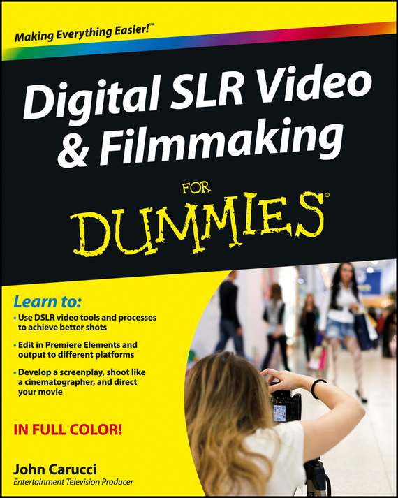 John Carucci Digital SLR Video and Filmmaking For Dummies portable on camera led video light kit