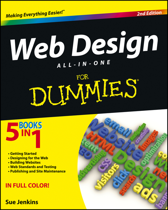 Sue Jenkins Web Design All-in-One For Dummies building web sites all–in–one desk reference for dummies®