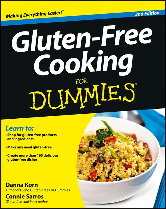 Danna Korn Gluten-Free Cooking For Dummies free shipping 10pcs lot fdb8447l to 263 new original