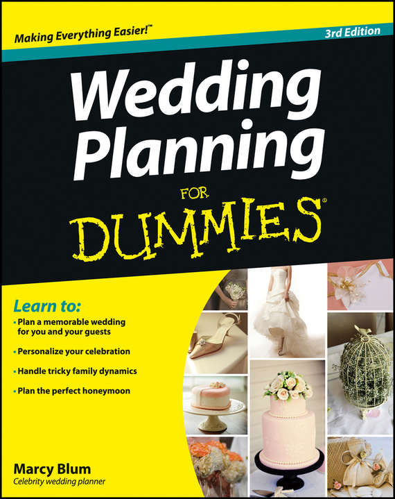 Marcy Blum Wedding Planning For Dummies ISBN: 9781118435694 the natural wedding