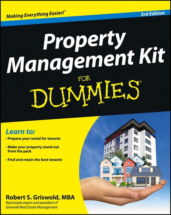 Robert Griswold S. Property Management Kit For Dummies laurence harmon landlord s legal kit for dummies