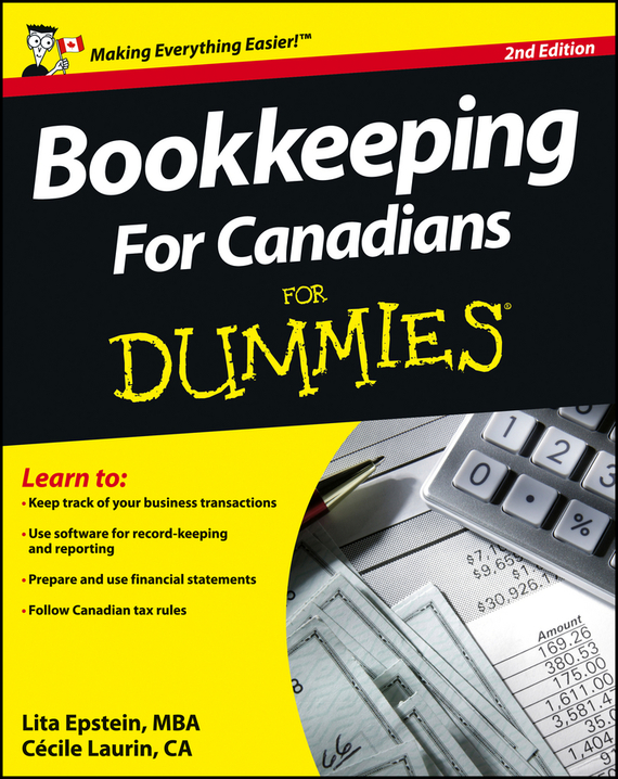 Lita  Epstein Bookkeeping For Canadians For Dummies tony martin personal finance for canadians for dummies