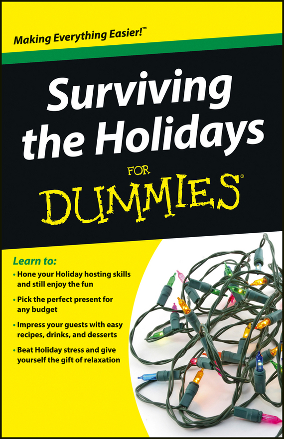 Consumer Dummies Surviving the Holidays For Dummies hot for the holidays