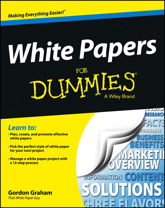 Gordon Graham White Papers For Dummies artificial nail removing cleansing cotton paper tissue white