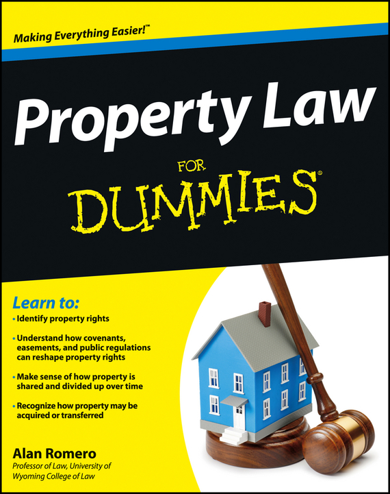 Alan Romero R. Property Law For Dummies the terror presidency – law and judgement inside the bush administration