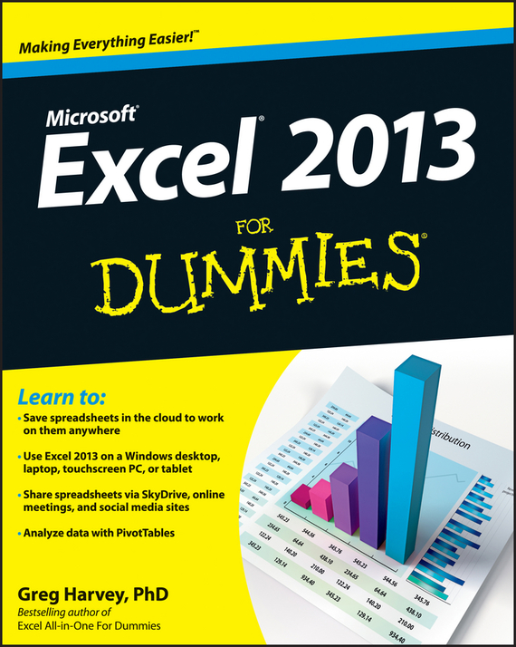 Greg Harvey Excel 2013 For Dummies ISBN: 9781118550120