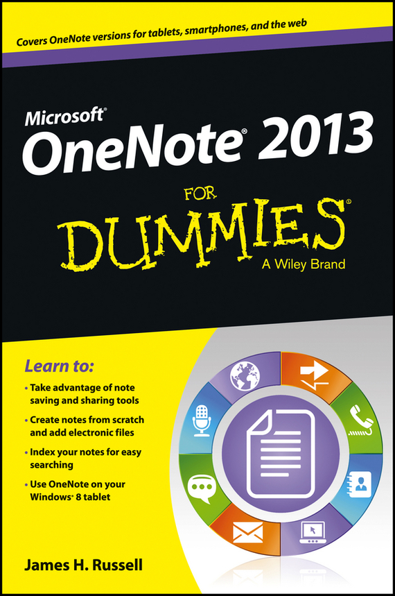 James Russell H. OneNote 2013 For Dummies