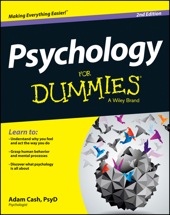 Adam  Cash Psychology For Dummies basic psychology 4e sg