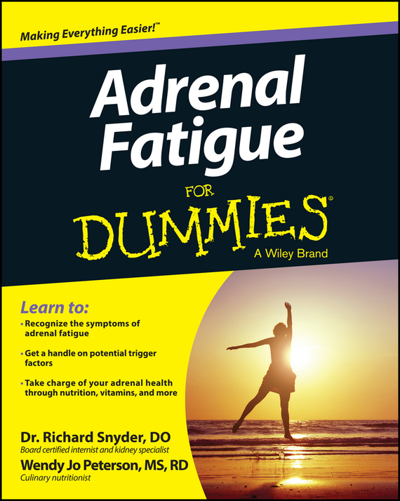 Richard  Snyder Adrenal Fatigue For Dummies upside of stress the